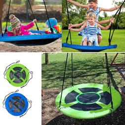 100% Safe & Comfortable Web Mat Rope Nest Tree Swing Roomy N