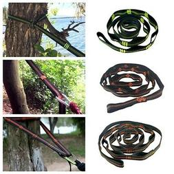 Tree Hanging Hammock Straps Climbing Rope Durable Extend Str