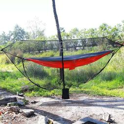 2 person portable camping hammock mosquito net