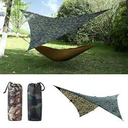9x9ft Waterproof Tarp for Shelter Survival Backpacking Campi
