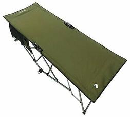 WolfTraders 20000 Patented Deluxe Folding Turbocot, Olive Gr