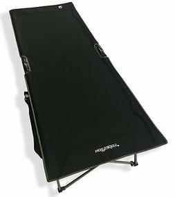WolfTraders 20001 Patented Deluxe Folding Turbocot, Black