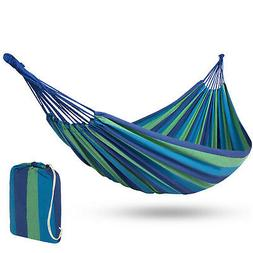 BCP 2-Person Brazilian-Style Cotton Double Hammock  w/ Carry