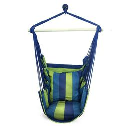 Bedroom Hammock Portable Chair Rope Swing Seat Outdoor Indoo