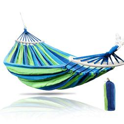 BW#A Outdoor Backyard Canvas Swing Chair Bed Camping Hunting