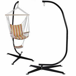 C Hammock Stand Frame Solid Steel Construction For Hanging A