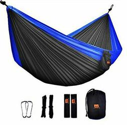 Camping Hammock - ONTODEX Double Parachute Hammock with Tree