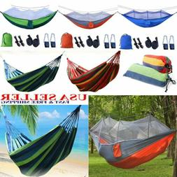 Camping Hammock Two/One Person Outdoor Parachute Double Tent