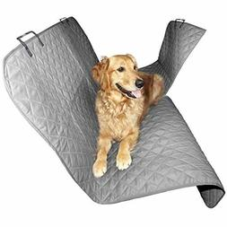 FurHaven Pet Car Seat Cover Universal Hammock Quilted Safety