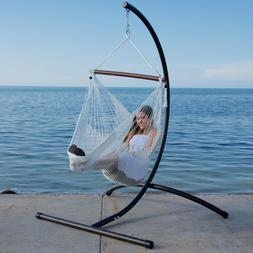 Caribbean Hammock Chair with Footrest - 40 inch - Soft-Spun