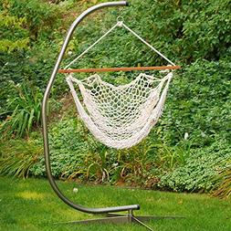 """Natural Cotton Rope Hanging Hammock Chair 48"""" x 47"""""""