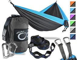 Double Camping Hammock- Best Lightweight & Portable Two Pers
