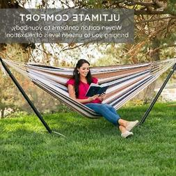 Best Choice Products Double Hammock Set w/ Accessories - Des