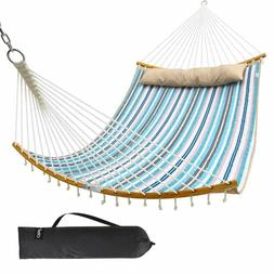Ohuhu Double Hammock with Detachable Pillow, 2019 All New Cu
