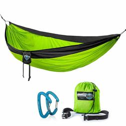 Double Parachute Camping Hammock by Youphoria Outdoors - Lig