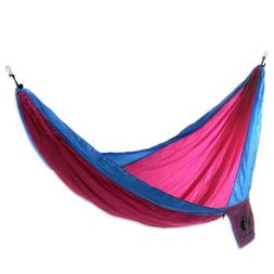 Double Parachute Hammock 'Party for Hang Ten' Double Hooks I