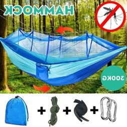 Double Person Outdoor Travel Camping Tent Hanging Hammock Be