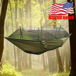 Double Person Travel Outdoor Camping Tent Hanging Hammock Be