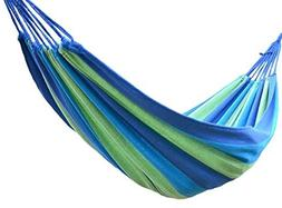 Double Wide Camping Hammock Hanging Bed and Ropes Tree Hammo