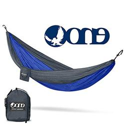 Eagles Nest Outfitters DoubleNest Hammock Charcoal/Royal