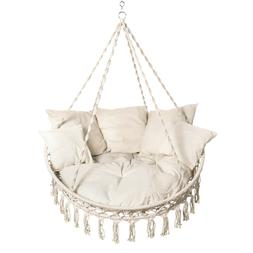 Bliss Hammocks Extra large 2 person Macrame Hanging Rope Lou