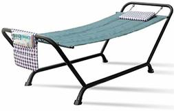 Sorbus Hammock Bed with Stand, Features Deluxe Pillow and St