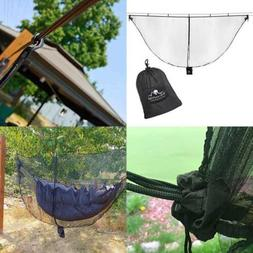 Hammock Bug Mosquito Net XL 11X4.6FT No See Ums Polyester Fa