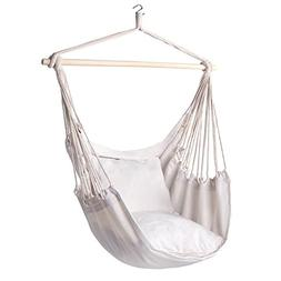 Y- STOP Hammock Chair Hanging Rope Porch Swing Seat Quality
