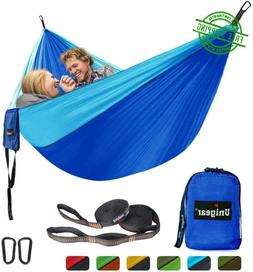 Hammock For Two 2 Person Double 320X200 Dark Blue/Sky Blue C
