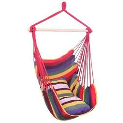 Hammock Hanging Rope Chair Swing Seat Patio Picnic Camping /