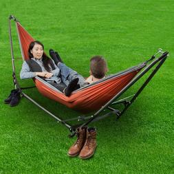 Ozark Trail Hammock Stand and Hammock Includes A Carry Bag F