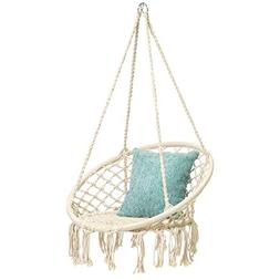 Hammock Swing Chair for 2-16 Years Old Kids,Handmade Knitted