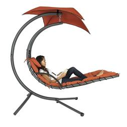 Hanging chaise lounger chair hammock home outdoor stand swin