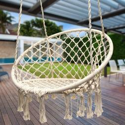 Hanging Lounge Chair Portable Hammock Front Porch for Bedroo