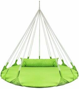 Sorbus Hanging Swing Nest Pillow, Double Hammock Daybed Sauc