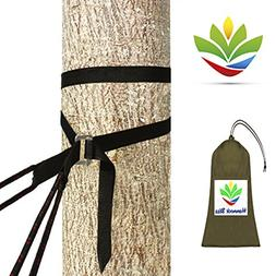 New & Improved - Hammock Bliss Deluxe Cinching Tree Straps -