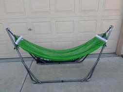 indoor/outdoor adult Hammock swingbed with metal frame for a