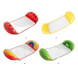 Inflatable Air Mattress Swimming Pool Floating Row Water Ham