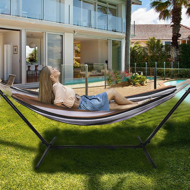 10ft Double Space Saving Two Person Patio and Lawn Portable