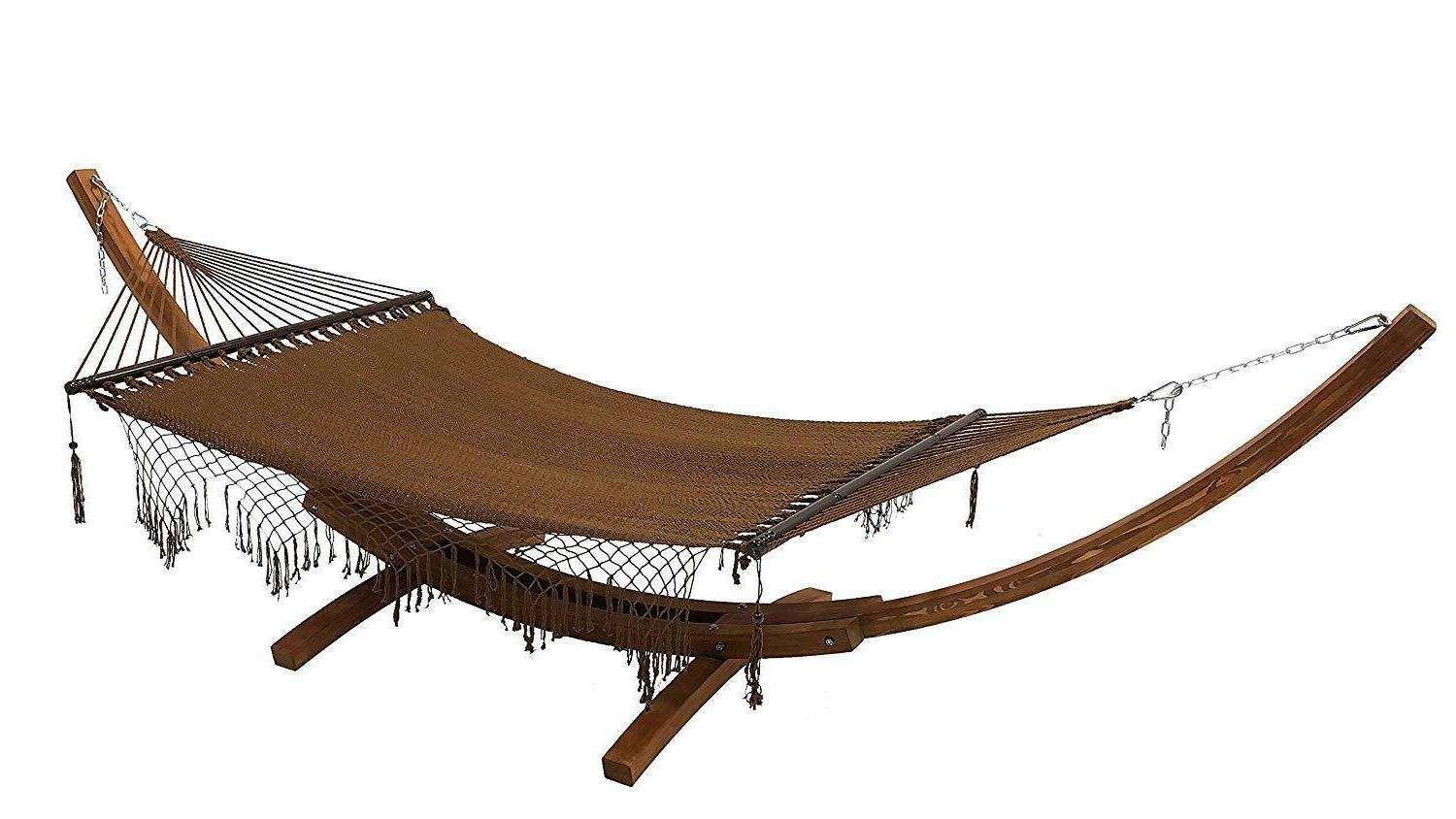bohemian chic rope 2 person hammock bed