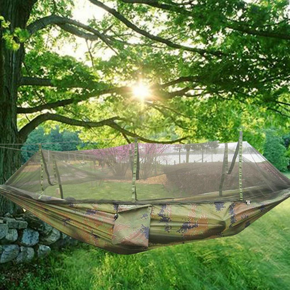 Camping Hammock Mosquito Net Hanging Bed Swing