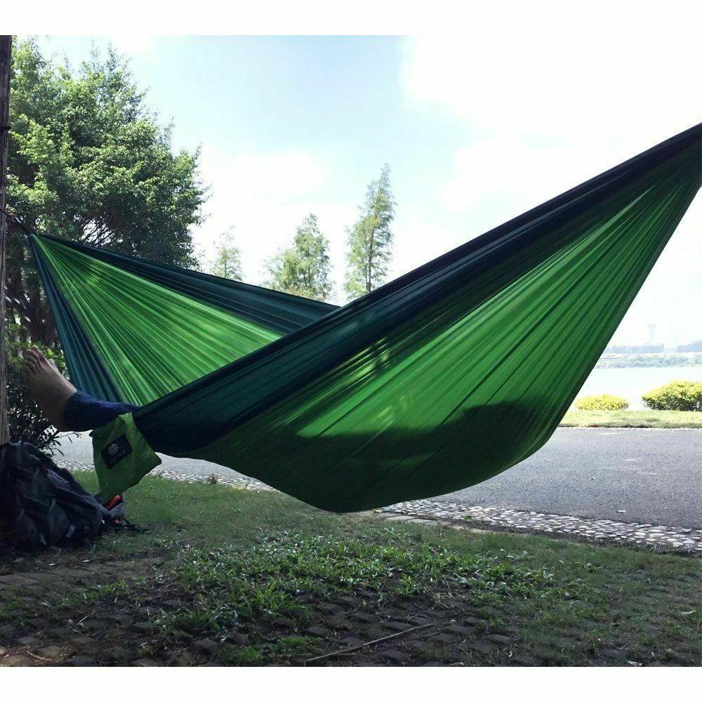 Camping Hammock Two 2 Tent Hiking Travel