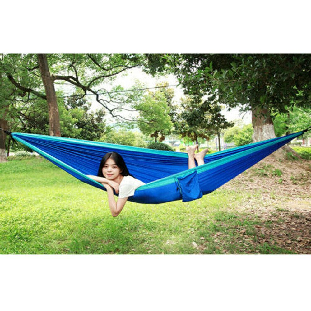 Camping Hammock Tent Net 2 Person Outdoor Travel Double Bed