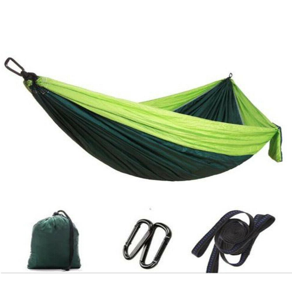 Camping Hammock Tent Net Set 2 Person Outdoor Double Hanging Bed