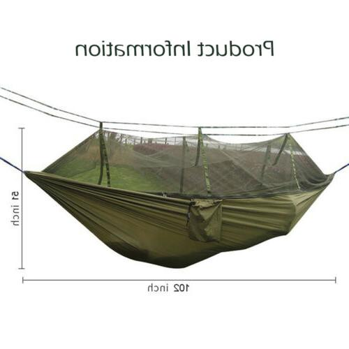 Camping Tent Mosquito Net 2 Outdoor Travel Bed