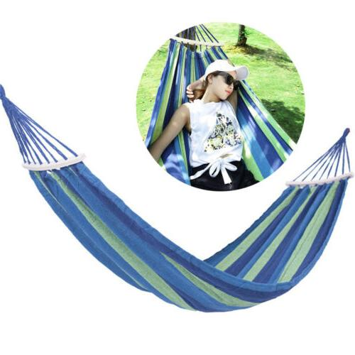 Camping Hammock Rope Double Hiking Hanging Swing