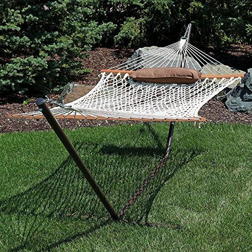 Sunnydaze Desert Rope Foot Stand, Pad and Pillow275
