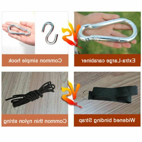 Double 2 Cotton Rope Hanging Camping Straps