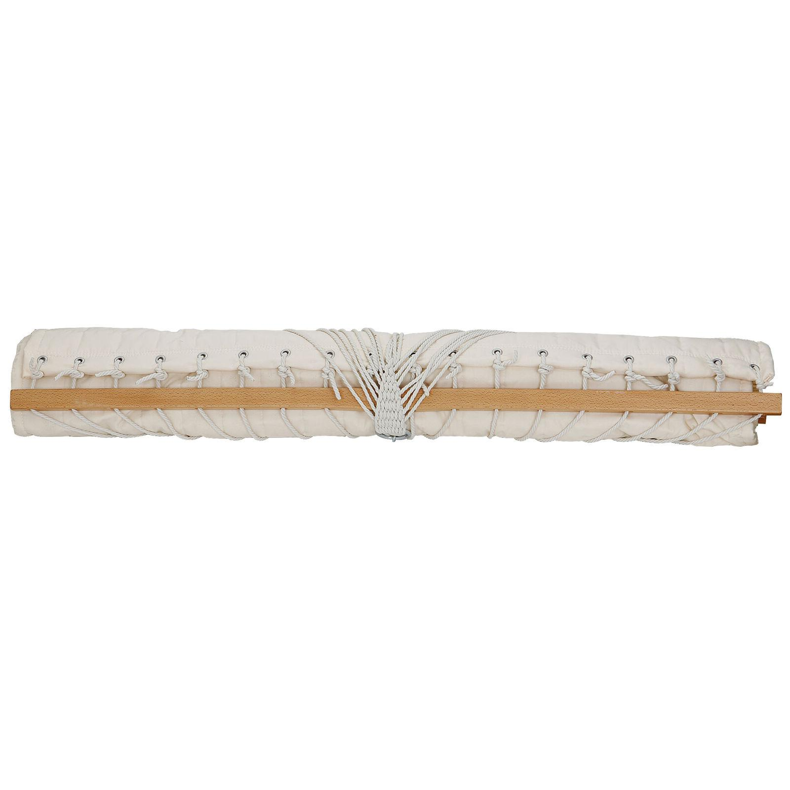 Double Quilted Sleeping Bed W/ Person White
