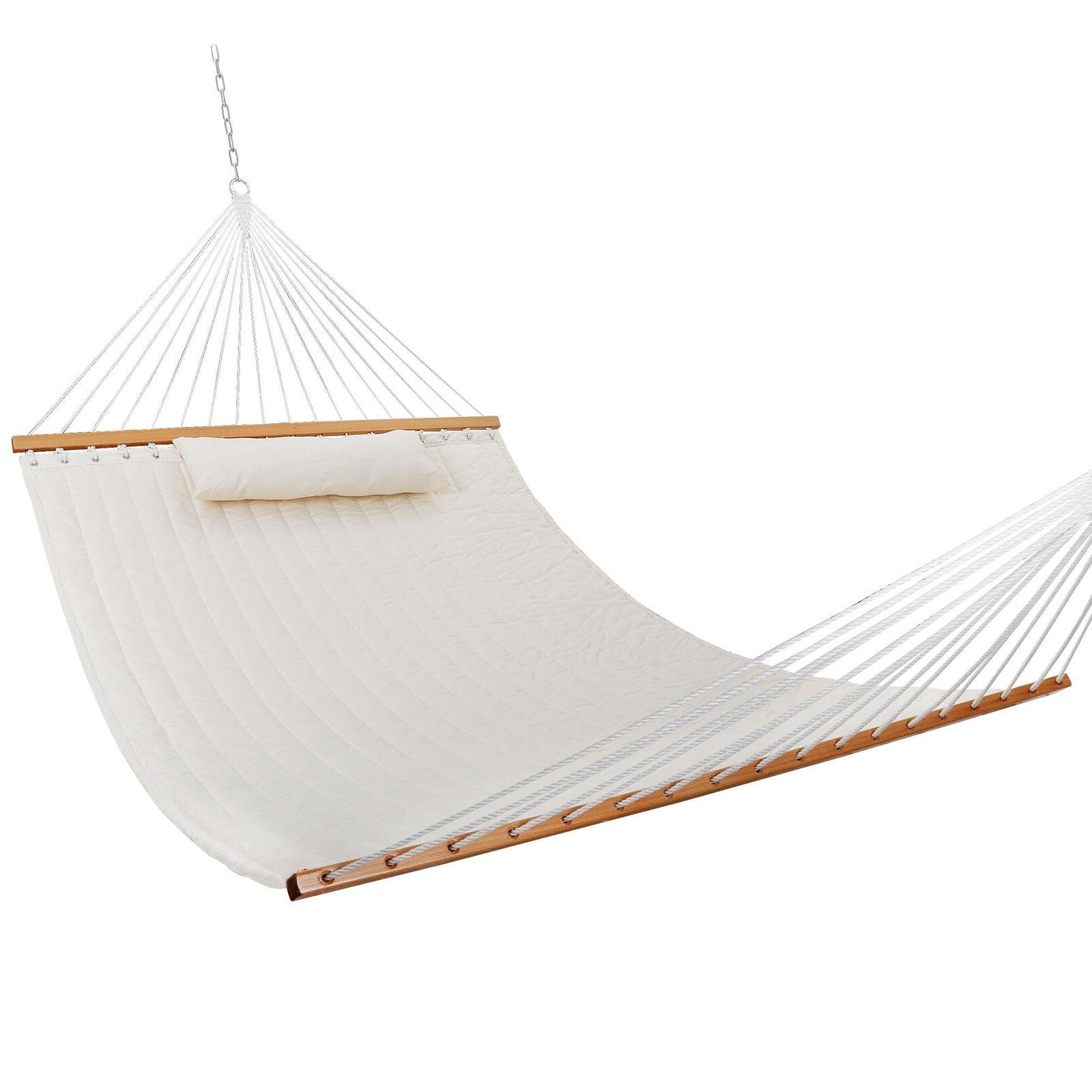 double hammock quilted fabric sleeping bed swing